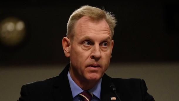 Shanahan soll dauerhaft Verteidigungsminister sein