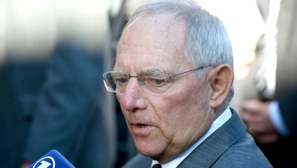 Schäuble kritisiert Ankäufe von Steuer-CDs