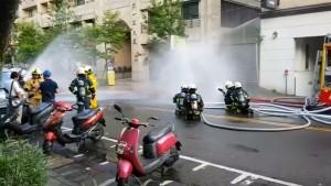 Gas und Wasserlecks nach Erdbeben