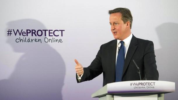 Cameron setzt Geheimdienst gegen Pädophile ein