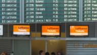 Zunächst letzter Streiktag bei der Lufthansa