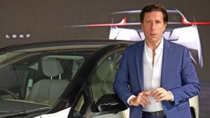 Nissans Chefdesigner liebt den Elektromotor