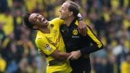 Die Zukunft beim BVB von Pierre-Emerick Aubameyang und Trainer Thomas Tuchel ist weiter ungewiss.