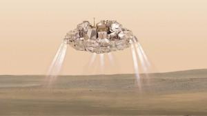 """""""Schiaparelli"""" auf Marsoberfläche aufgeschlagen"""