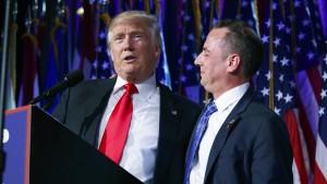 Machtkampf im Team von Donald Trump