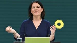 """Baerbock: """"Wir stehen vor entscheidenden Jahren für den Klimaschutz"""""""
