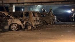 65 Autos brennen bei Feuer am Flughafen Münster Osnabrück