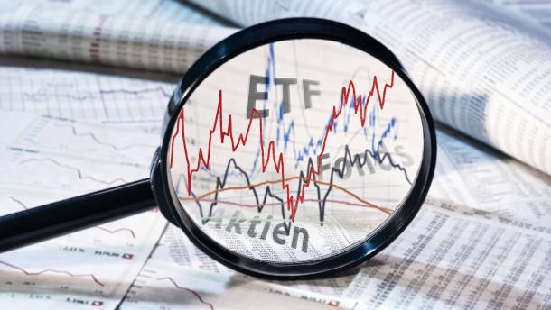 Einfach sparen mit ETFs