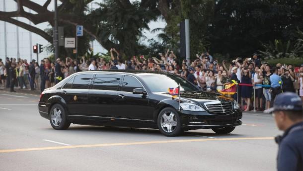 Wie Nordkoreas Machthaber an seine Luxusautos kommt