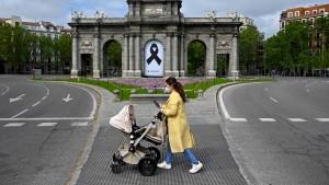 Ganztägige Ausgangssperre in Spanien war verfassungswidrig