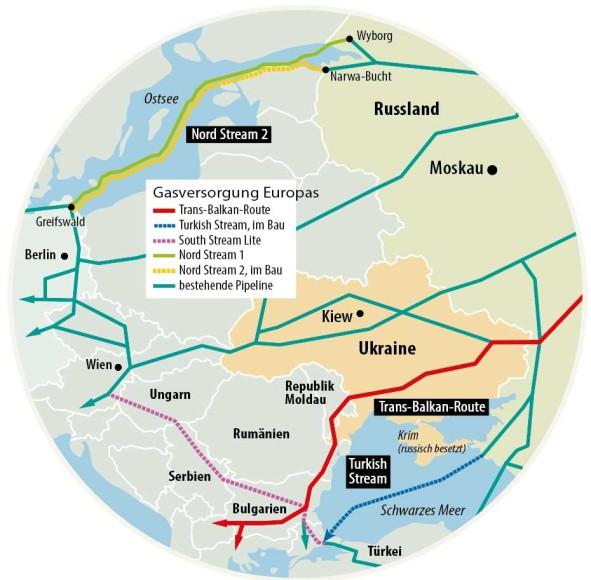 Nord Stream 2 Karte.Bilderstrecke Zu Nord Stream 2 Russland Will Die Ukraine