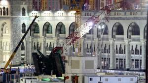Bin-Ladin-Baukonzern verantwortete Arbeiten in Mekka