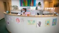 Corona-Schwerpunktpraxis eines Hausarztes in Wiesbaden