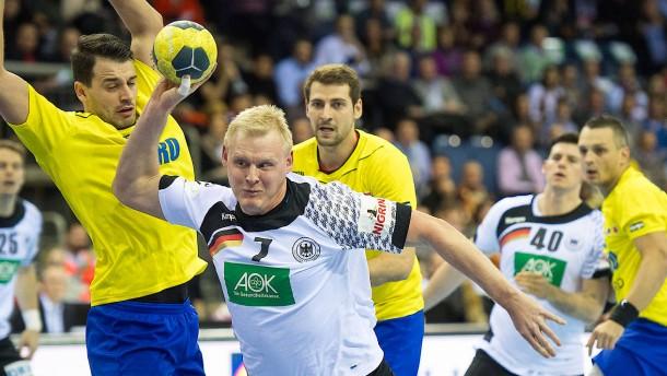Deutsche Handballer sind schon in WM-Form