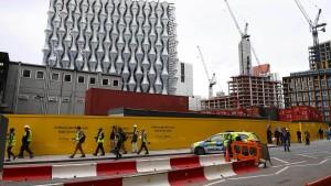 Kontrollierte Sprengung in London