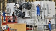 Wechselkurse berühren deutsche Unternehmen kaum. Besonders den Maschinenbau stört das wenig.