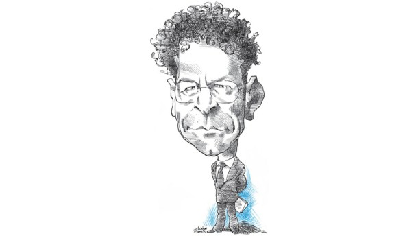 Karikatur / Jeroen Dijsselbloem