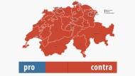 So haben die Schweizer Nein gesagt