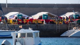 Spanien räumt umstrittenes Lager