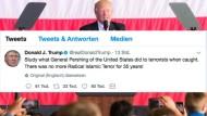 Trump empört mit Schweineblut-Tweet zu Barcelona