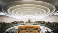 Hessischer Landtag: Am Freitag kommen die Abgeordneten zur konstituierenden Sitzung zusammen. (Symbolbild)