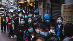 Chinesen erwarten Höhepunkt Mitte Februar