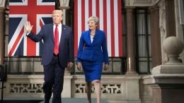 Trump zu Besuch in London