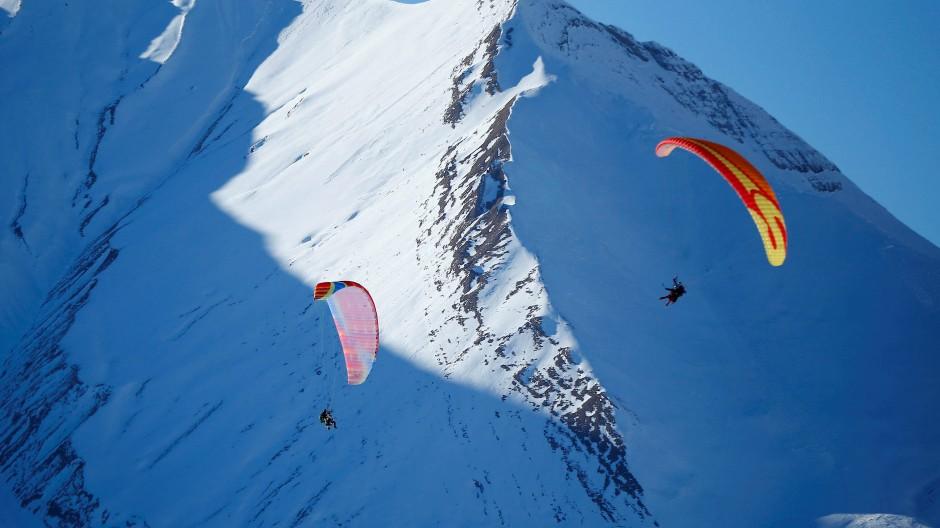Speedriding ist das neue Skifahren
