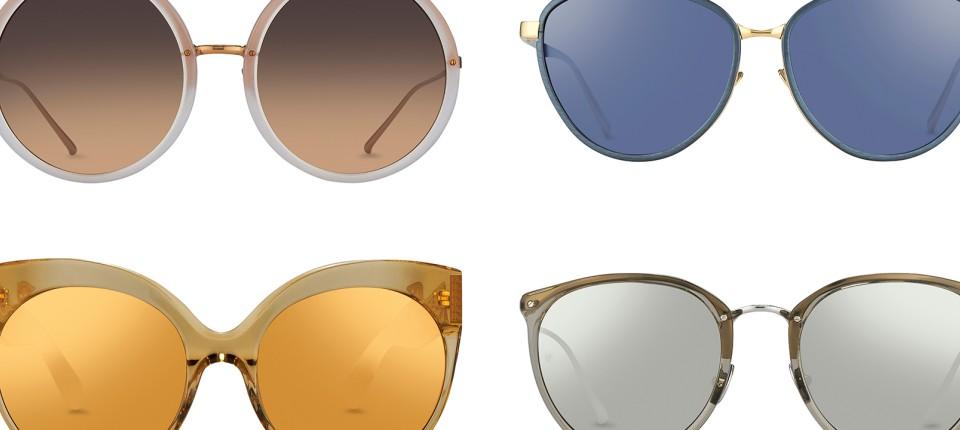 e5b305c2b191ec Simon Jablon vom Label Linda Farrow über Brillen-Mode