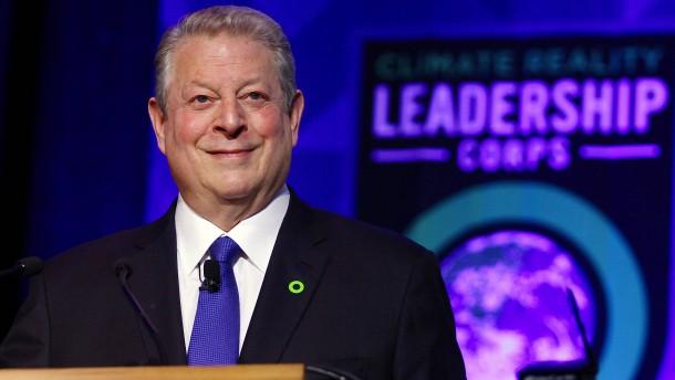 Beinahe-Präsident und Klimaschützer