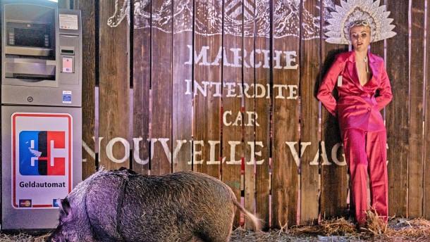 Dieses Schwein ist entzückend!