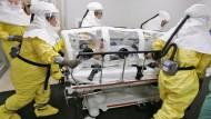 Erster Ebola-Fall in den Vereinigten Staaten
