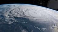 """Hurrikan """"Harvey"""" erreicht Amerikas Küste"""