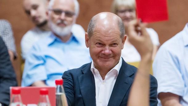 Olaf Scholz will SPD-Vorsitzender werden