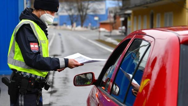 Bundespolizei verstärkt Grenkontrollen zu Österreich