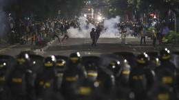 Sechs Tote bei Protesten in Jakarta