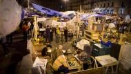 Wie bekommt man die Occupy-Generation filmisch in den Blick? Blick auf das Protestlager in Madrid