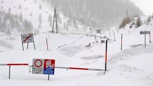 Viel Schnee in den Alpen