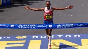 Große Emotionen beim Boston-Marathon