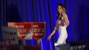 Melania Trump steigt in den Ring