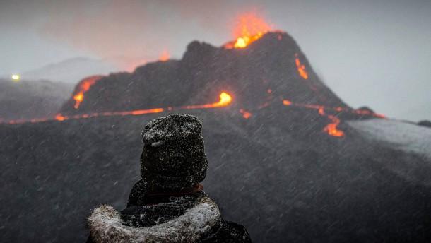 Fagradalsfjall begeistert Vulkan-Fans