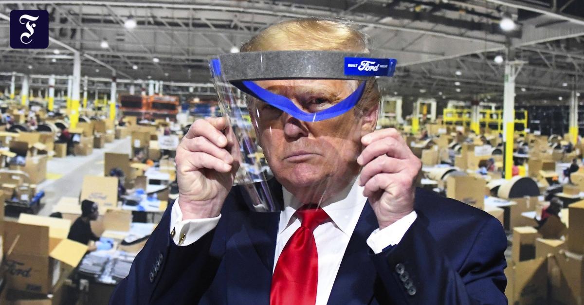 Corona-Pandemie: Trump gegen neuen Shutdown bei zweiter Corona-Welle
