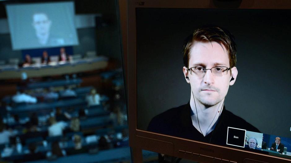 Aussicht auf eine Begnadigung durch den Präsidenten hat er eher nicht: Edward Snowden.