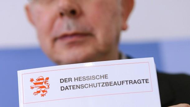 Datenschützer lobt die Hessen