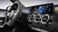Die neue A-Klasse von Daimler lädt Telefonnummern und Kalenderdaten aus dem Handy hoch – wenn der Kunde es erlaubt.