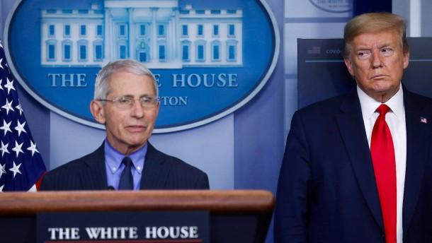 Weißes Haus blockiert Anhörung von Fauci