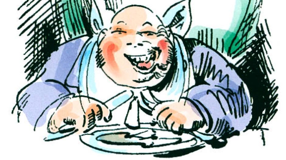Nur noch gesättigte Fettsäuren: Das Geistige kommt in diesem Wahlkampf zu kurz.