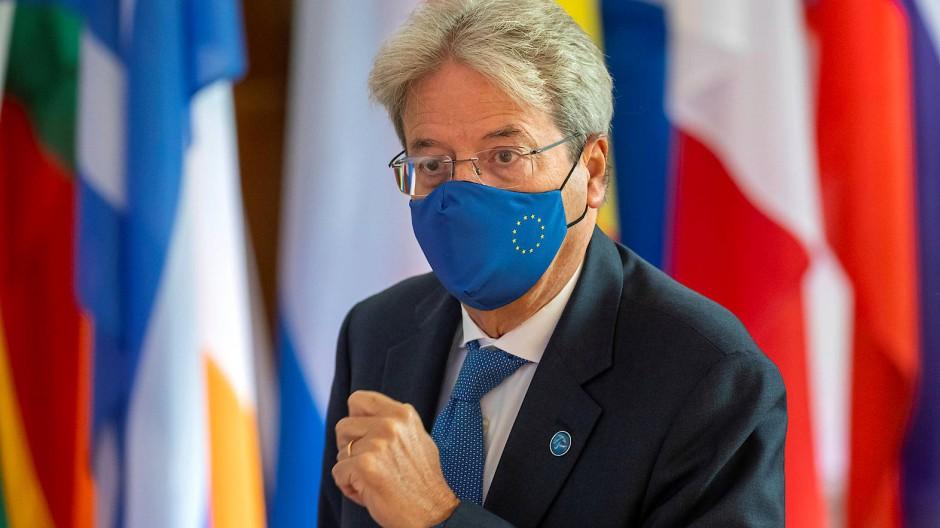 EU-Wirtschaftskommissar Paolo Gentiloni kommt zum informellen Gipfel der EU-Finanzminister in Berlin.