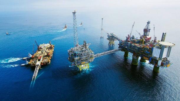 Ölförderung vor Norwegen