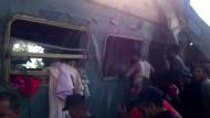 Mehrere Tote nach Zugunglück in Ägypten